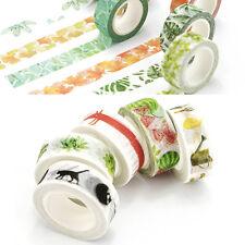 Neu 1.5cm×7M 3D DIY paper Sticky Adhesive Sticker Dekorativ Washi Tape Neu Nue