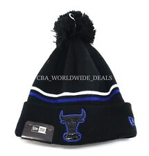 New Era NBA Chicago Bulls Black Sneaker Hook Knit Pom Beanie - One Size