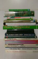 21 Gardening Books: Flowers and House Plants