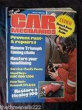 CAR MECHANICS - RESTORE A HEALEY 100 - MARCH 1980