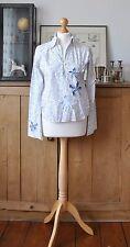 Femmes Designer sud express blanc/chemise bleu taille T1