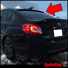 Rear Roof Spoiler Window Wing (Fits: Subaru WRX 2015-on 4dr) SpoilerKing