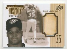 FRANK THOMAS 2008 Upper Deck A Piece of History 500 CLUB BAT RELIC WHITE SOX HOF