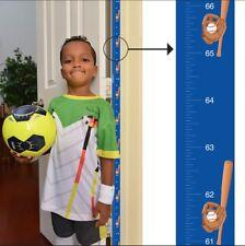 Award Winning Baseball Growth Chart: Track & Measure Height (Fits in Door Jamb)