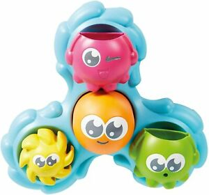 Tomy Baby Spin and Splash Bath Toy Octopals Educational Water Play
