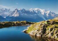 A1 Mont Blanc Glacier Poster Art Print 60 x 90cm 180gsm - Blanc Lake Gift #16281
