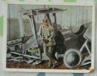 1wk Bild sammelbild zigarettenbild 1916 Immelmann Flugzeug Pilot ST