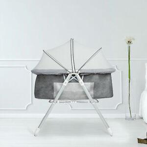 2in1 Baby Infant Bedside Bassinet Crib Cradle Nursery Carrier Newborn Sleeper