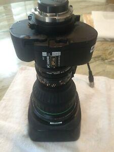Canon Lens J21ax7.8B4 WRS SX12  FULL SERVO, IFXS, Broadcast Zoom Lens