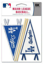 Large Lot! Los Angeles Dodgers Pennant Stickers Baseball Licensed Mlb 50 Packs