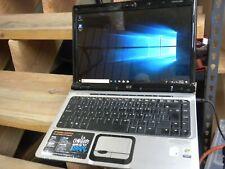 HP DV2000 DV2035 computer w Spanish keyboard Windows 10 Works