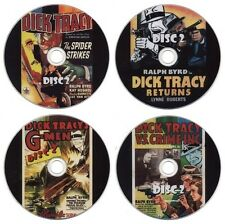 Dick Tracy Serial Collection: Spider Strikes, Returns, G-Men, Vs Crime (8 x DVD)