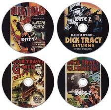 Dick Tracy Serial Collection: Spider Strikes, Returns, G-Men, Vs Crime (8 x DVD)