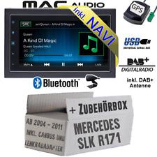Autoradio für Mercedes SLK R171 CanBus DAB NAVIGATION USB Bluetooth DAB+ Navi