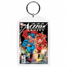 DC Comic Book Action Comics #892  Superman Flash Cover Keychain
