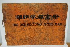 Vintage CHAO ZHOU WHEAT STALK PICTURE ALBUM