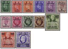 Francobolli Eritrea Stamps 1950 British Administration King George VI
