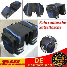 Multifunktional Fahrradtasche Gepäckträger Packtaschen Wasserdicht Satteltasche