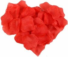 1000 pcs Red Silk Rose Flower Petals Wedding Confetti Engagement Romantic Celeb