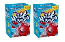 Kool Aid Singles Tropical Punch Drink Mix 2 Pack