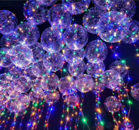 10x Colorful LED String Fairy Lights Balloon Christmas Wedding Party Home Decor