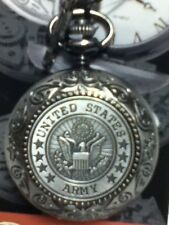 Collection Pocket Watch New United States Army Vintage