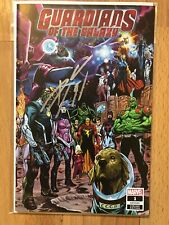Guardians Of The Galaxy #1  Cover B Signed By Donny Cates W/ COA