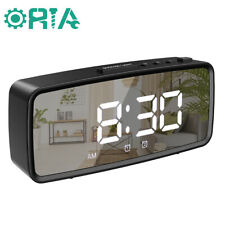 """5.1"""" Large LED Display with USB Charger Ports Adjustable Brightness for Home"""