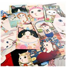 Jetoy Choo Choo Greeting Post Card Ver.2 Kawaii Cat Character 10EA Random Design