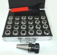 Spannzangenfutter SK40 DIN69871 ER40 im Alukoffer z.B. für Deckel Fräsmaschine