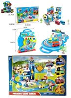Tayo The Little Bus Storage Parking Lot Set Electric Track 2-4 Cars Gift CHOOSE