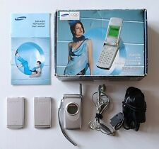 Samsung SGH-A300 Mobile Phone (Unlocked). In original box with accessories.