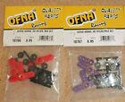 OFNA SERVO HORNS Heavy Duty Nylon Red & Purple #' 10766-77  NEW