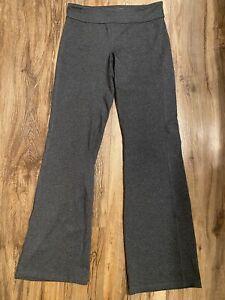 Athleta Gray Yoga Pants Large Tall LT EUC