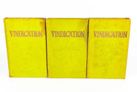 1932 Vindication I, II, III 1st Editions JF Rutherford ISBA Ezekiel's Prophecy