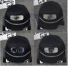 Naruto Metal Plate & Chain Snapback Hat Baseball Cap Anime & Manga