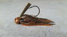 3pc Copper Craw 3/8oz, 1/2oz, 3/4oz Standup Football Head Jigs Mustad hooks
