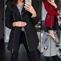 Fashion Women's Thicken Warm Coat Hooded Jacket Winter Zipper Parka Outwear Coat