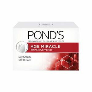 20g Ponds Age Miracle Wrinkle Corrector Day Cream SPF 18 PA++ Free Shipping