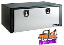 18 x 18 x 48 Under Body Tool Box, Stainless Door Rollback, Trailer, Flat Bed, RV