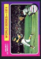 1975 Topps #464 World Series Vintage Card~NM/NM-MT~Athletics