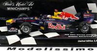1:43 Minichamps Red Bull Renault RB7 Winner GP Malaysia Vettel 2011