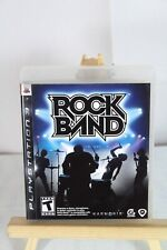 Rock Band (Sony PlayStation 3, 2007) Complete!