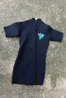 Wetsuit DEEP SEE Black SHORTIE Surfing Diving Wet Suit S Sml SMALL Classic