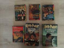 lot J K ROWLING romans HARRY POTTER tomes 1 2 3 4 5 7  bon état!