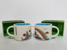 Starbucks Mini Coffee Mug 'You Are Here' Collection HAWAII Ornaments 2 floz - J