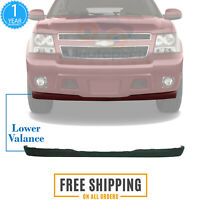 VRracing Front Bumper Lower Valance Air Deflector for Chevy Avalanche Suburban Tahoe 2007-2013