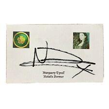 Natalie Dormer Signed Game of Thrones 3x5 Index Card Margaery Tyrell Autogrwpjed