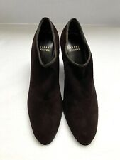 Stuart Weitzman Brown Suede Ankle Boots, Size 7M