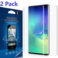 2PK [1Back + 1Front] Full Cover HD Screen Protector For Samsung Galaxy S10 Plus